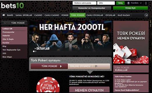 Best 10 Türk Pokeri Sayfası Girişi